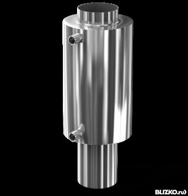 Теплообменник на трубу 150мм горизонтально расположенный кожухотрубный теплообменник