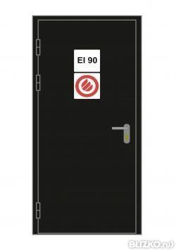 двери металлические противопожарные 1900х800