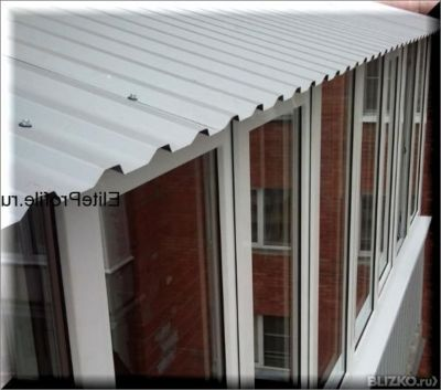 Крыши на балконы и лоджии. в городе омск. цена товара от 2 1.