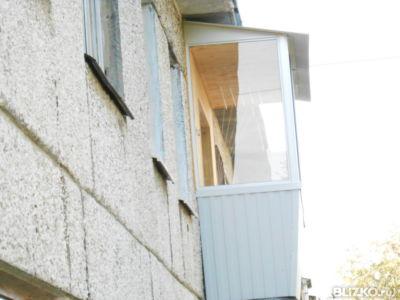 Балкон под ключ. от компании стекло-ст купить в городе екате.