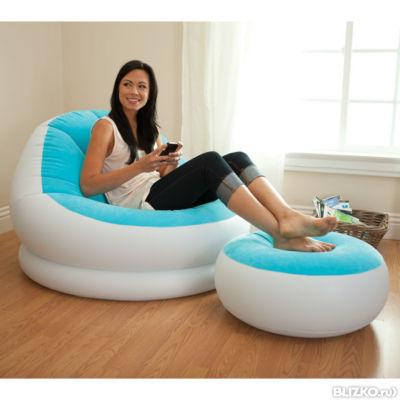 Надувные кресла для отдыха на море