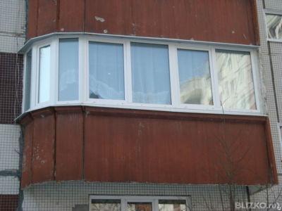 Металлопластиковое остекление балкона в екатеринбурге - на п.