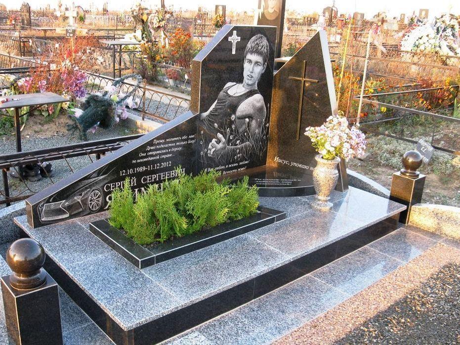 красивые надгробные памятники фото статья