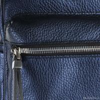5e578623a710 Женский рюкзак из натуральной металлизированной кожи Chatte