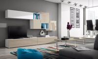 Дизайнерский стеллаж для гостиной на заказ